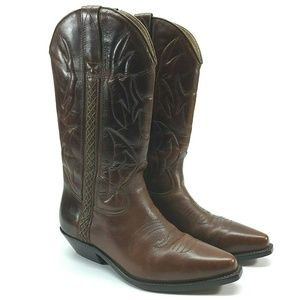 Cole Haan Country Mens Western Cowboy Boots
